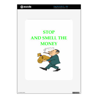MONEY DECAL FOR THE iPad