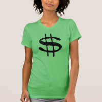 Money Dollar Sign T-Shirt