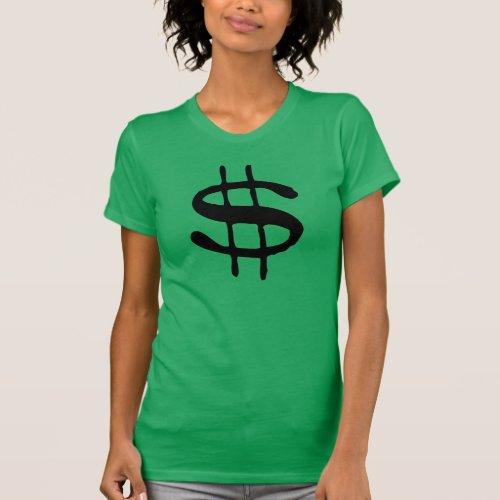 Money Dollar Sign T_Shirt