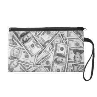 Money Dollers Finance Wristlet