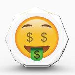 """Money Face - Emoji Acrylic Award<br><div class=""""desc"""">Money Face - Emoji</div>"""