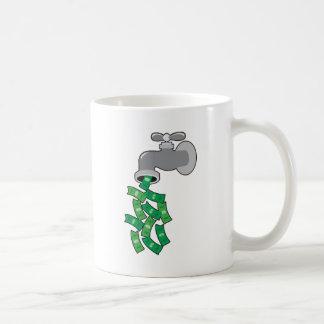 Money Faucet Coffee Mug