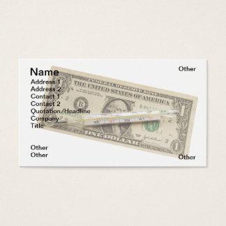 Money fever business card