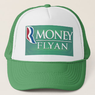 """Money Flyan"" Romney-Ryan Logo Satire Hat"