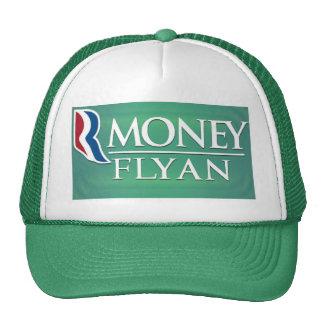 """Money Flyan"" Romney-Ryan Logo Satire Hat"