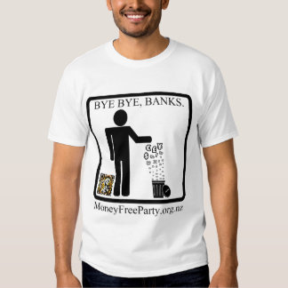 Money Free Party New Zealand T-Shirt