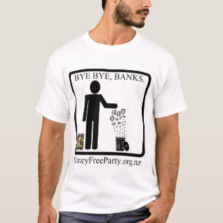 Money Free Party New Zealand T-Shirt