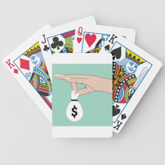 Money Fund Transfer Bicycle Playing Cards