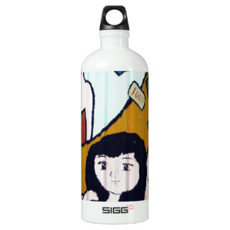 Money girls aluminum water bottle