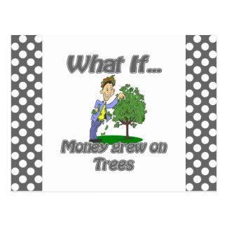 money grew on trees postcard
