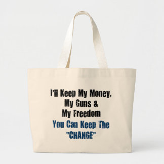 Money, Guns and Freedom Tote Bag