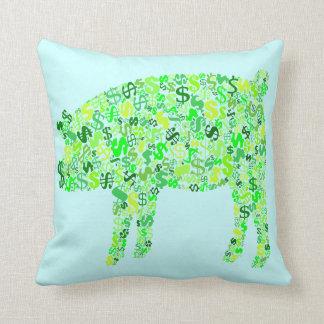Money Hog Pillow