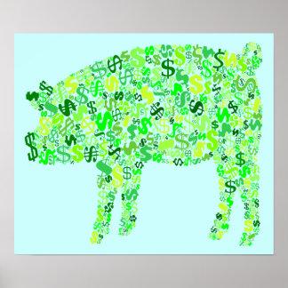 Money Hog Poster