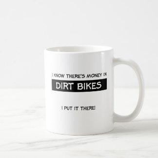 Money In Dirt Bike Motocross Mug