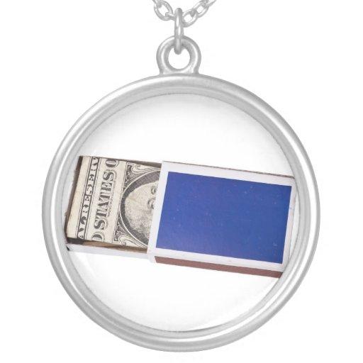 Money in matchbox jewelry