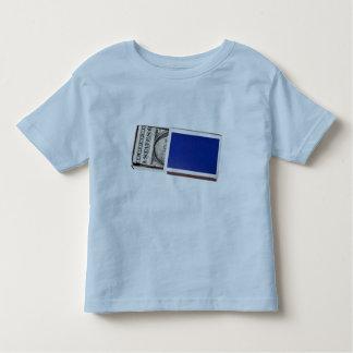 Money in matchbox toddler t-shirt