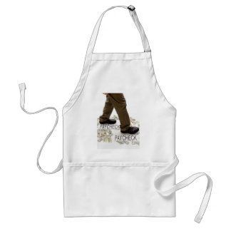 Money In, Money Out, Living Paycheck to Paycheck Adult Apron