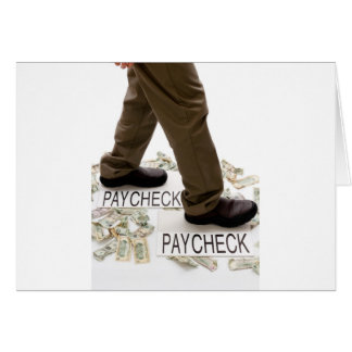 Money In, Money Out, Living Paycheck to Paycheck Card