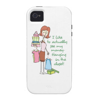 MONEY IN THE CLOSET VIBE iPhone 4 CASE