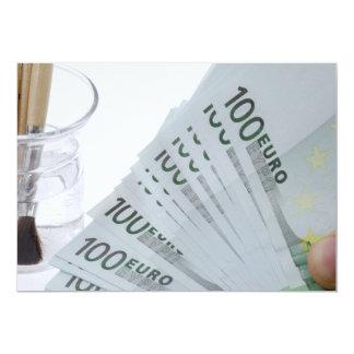 "Money 5"" X 7"" Invitation Card"