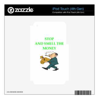 MONEY iPod TOUCH 4G DECAL