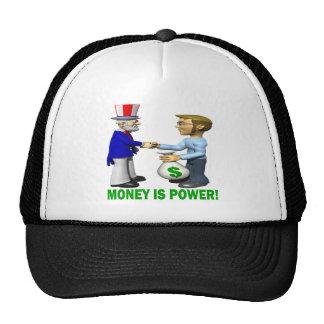 Money Is Power Mesh Hat