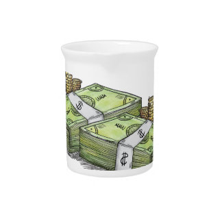 Money is the Motive Collection Beverage Pitcher