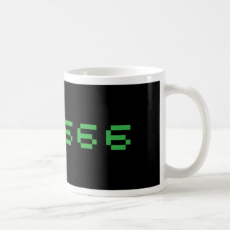 Money is the Square Root of Evil Classic White Coffee Mug