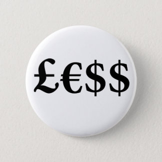 Money Is Worth Less Button