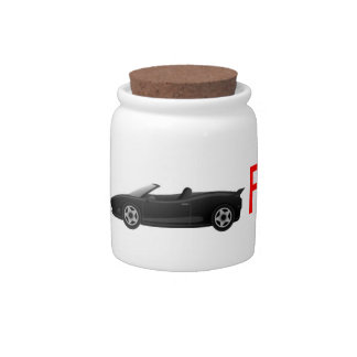 """Money Jar """"Car Fund"""" For Guys Candy Dishes"""