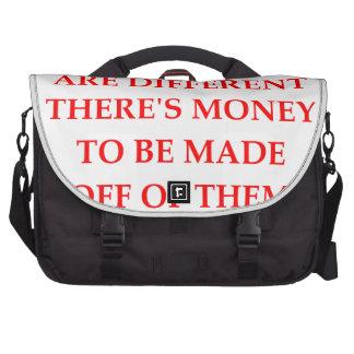 money laptop commuter bag