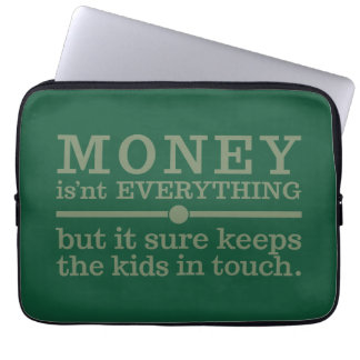 MONEY laptop sleeves