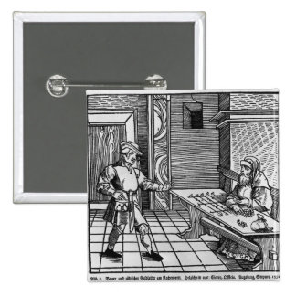 Money Lender, 1531 Button