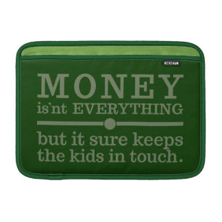 MONEY MacBook Air / iPad sleeves