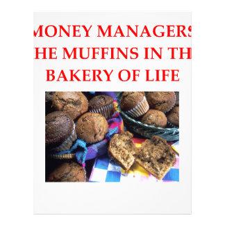 MONEY manager Letterhead