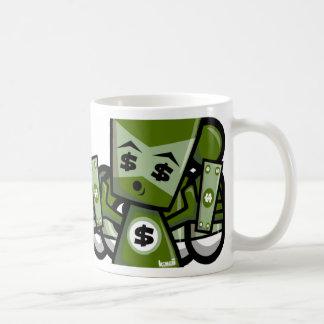 Money Mascot Coffee Mugs