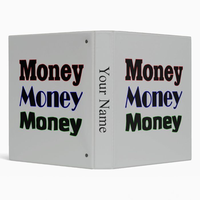 Money Money Money Binder