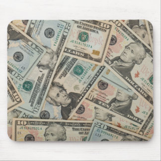 Money Money Mouse Pad
