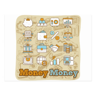 Money Money Postcard