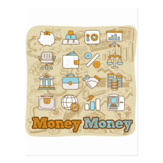Money Money Postcard