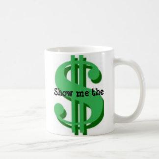 Money Classic White Coffee Mug