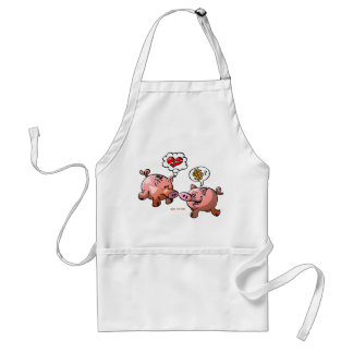 Money or Love? Adult Apron