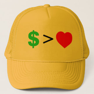 Money over Love Hat