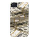Money Phone Case-Mate iPhone 4 Cobertura