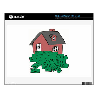 Money Pit House Decals For Netbooks