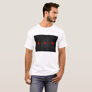 Money Plus Lust Equals Love Men's T White T-Shirt