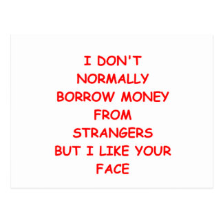 MONEY.png Postcard