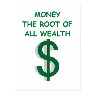 money post card