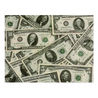 money postcard