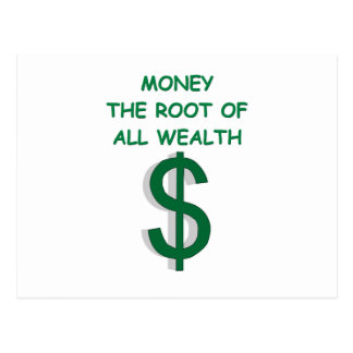 money postcards